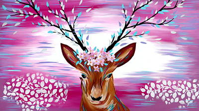 Pink Art Print by Cathy Jacobs