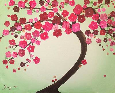 Pink Cherry Blossoms Original