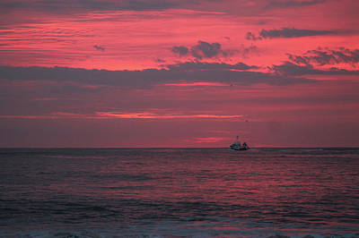 Photograph - Pink Clouds Of Dawn by Robert Banach