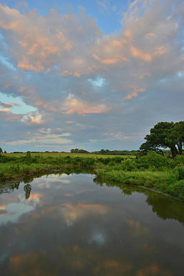 Photograph - Pink Clouds Over Glacial Park by Ray Mathis
