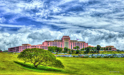 Photograph - Pink Coral Tripler Army Medical Center Oahu Hawaii Art by Reid Callaway