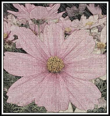 Mixed Media - Pink Cosmo by Chalet Roome-Rigdon
