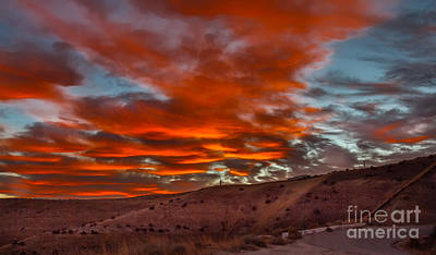 Photograph - Pink Cotton Candy Sunrise by Robert Bales