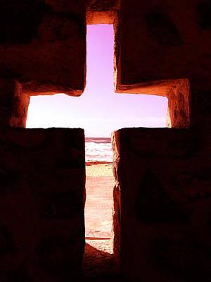 Photograph - Pink Cross by Yelena Tylkina