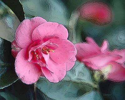 Pink Crystal Art Print