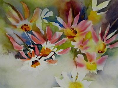 Pink Daisies Art Print