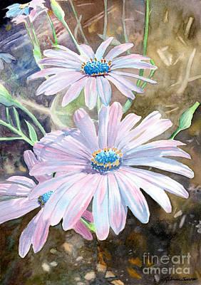 Painting - Pink Daisy by LeAnne Sowa