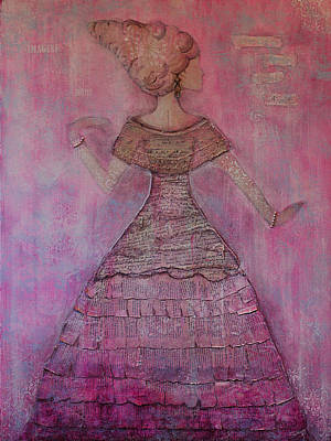 Painting - Pink Dare by Heather Saulsbury