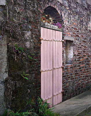 Photograph - Pink Doors by Judy Johnson