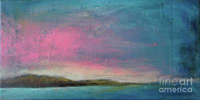 Painting - Pink Dusk by Vesna Antic