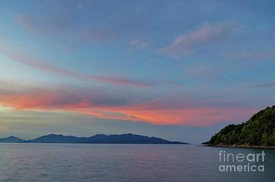 Photograph - Pink Evening by Michelle Meenawong