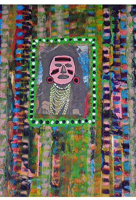 Mixed Media - Pink Face by Russell Simmons