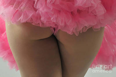 Photograph - Pink Fanny by Robert WK Clark