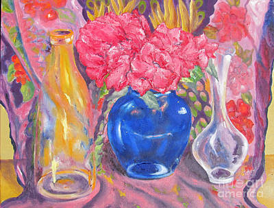 Painting - Pink Fantasy by Lisa Boyd