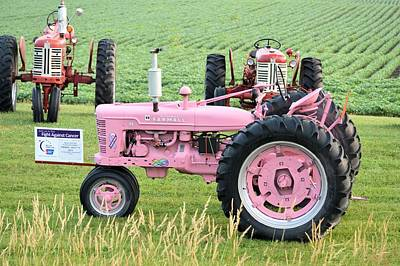 Photograph - Pink Farmall by Bonfire Photography