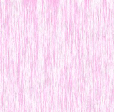 Pink Fiber Art Print