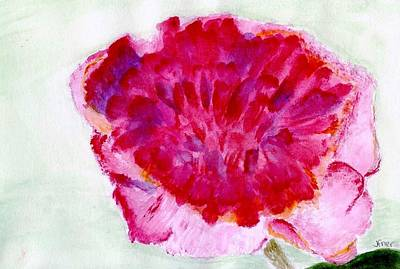 Painting - Pink Flower by Jamie Frier