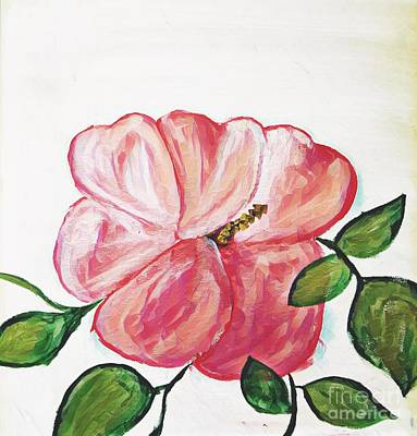 Painting - Pink Flower by Jessica Eli