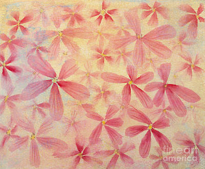 Painting - Pink Flowers by Diane Macdonald