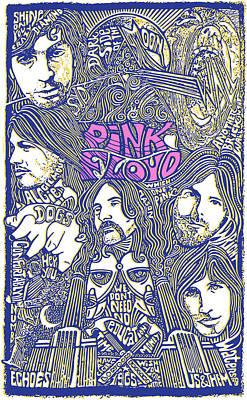 Digital Art - Pink Floyd Poster Art by Gary Grayson
