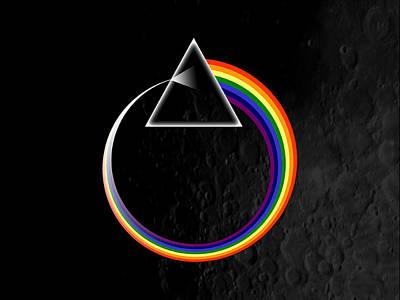 Design Digital Art - Pink Floyd by Super Lovely