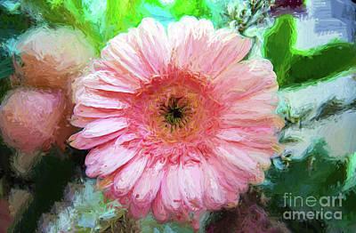 Pink Gerbera Daisy  Original