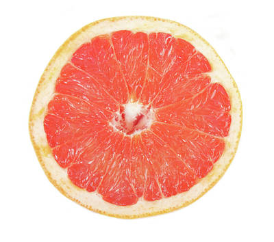 Fruit Photograph - Pink Grapefruit by James BO  Insogna