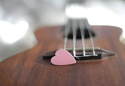 Musical Photograph - Pink Heart by © 2011 Staci Kennelly