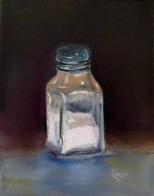Painting - Pink Himalayan Salt by Wendy Winbeckler - Kanojo