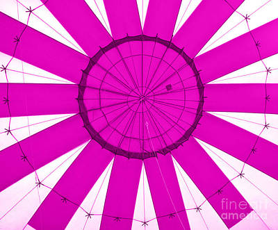 Studio Grafika Zodiac Rights Managed Images - Pink Hot Air Balloon Pattern From Inside Royalty-Free Image by Robert Gaines