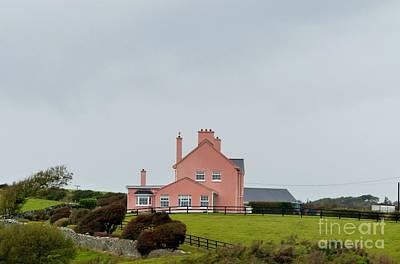 Photograph - Pink House In Ireland by Rosanne Licciardi