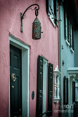 Photograph - Pink House Tavern Light by Dale Powell