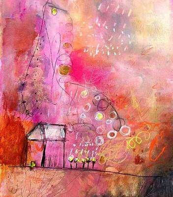 Painting - Pink House by Wendy Mcwilliams
