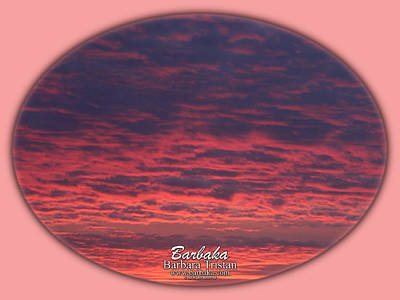 Photograph - Pink Hues Sunrise #5109 by Barbara Tristan