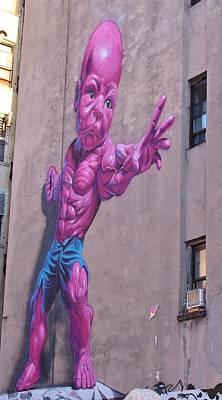 Photograph - Pink Hulk Baby by Karen Silvestri