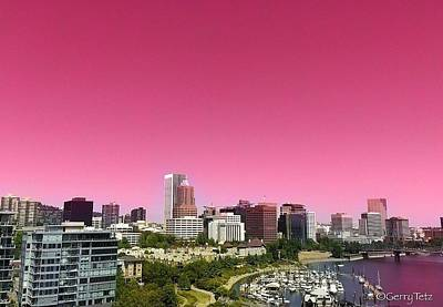 Photograph - Portland Pink by Gerry Tetz