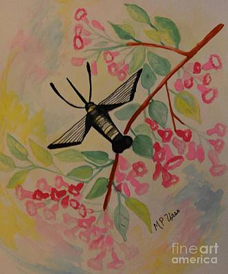 Painting - Pink Japonica by Maria Urso