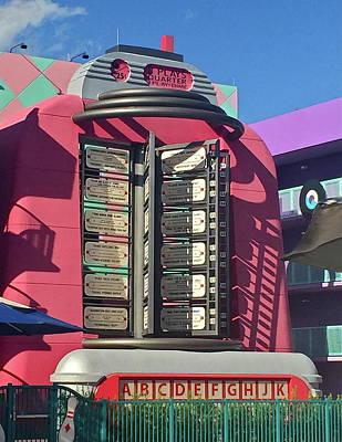 Photograph - Pink Juke Box by Denise Mazzocco