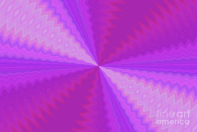 Digital Art - Pink Kaleidoscope by Donna L Munro