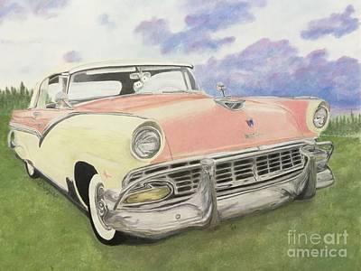 Ford Fairlane Drawings