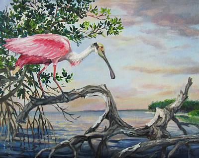 Pink Lady Original by Dianna  Willman