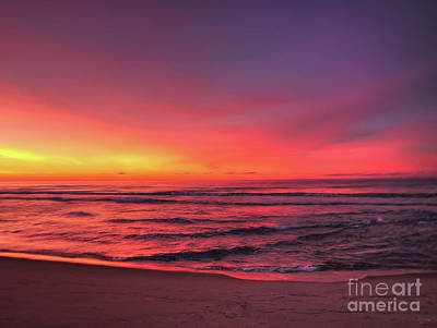 Photograph - Pink Lbi Sunrise by Jeff Breiman