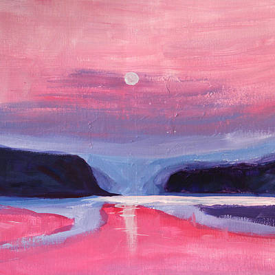 Painting - Pink Light by Nancy Merkle