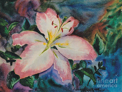 Painting - Pink Lily by Brenda Thour