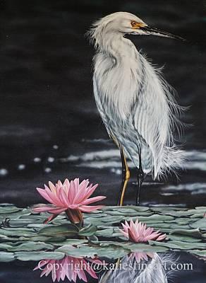 Pastel - Pink Lily by Katie McConnachie