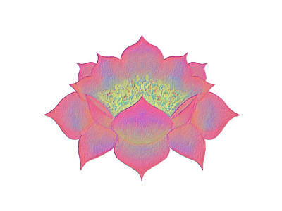 Painting - Pink Lotus by Elizabeth Lock
