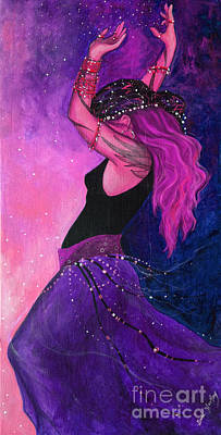 Spiritual Jewelry Painting - Pink Magick by Dori Hartley