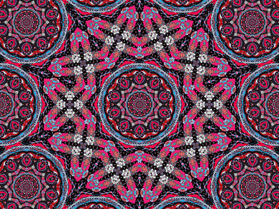 Mixed Media - Pink Mandala by Natalie Holland