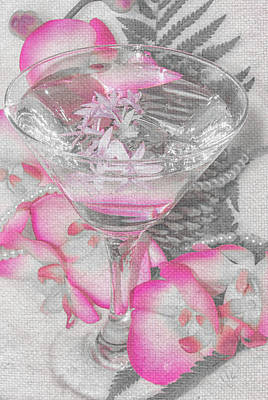 Photograph - Pink Martini Bwp by Pamela Williams