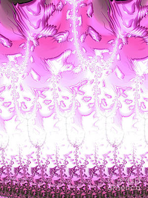 Digital Art - Pink Me Up by Elaine Teague